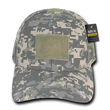 7cdf6603d0a6f Amazon.com  RAPDOM Low Crown Tactical Caps Operator Hat (Adjtable ...