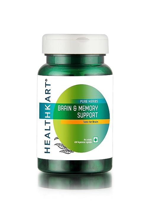 Buy Healthkart Brain Memory Support 60 Capsules Online At Low