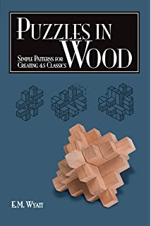 Wooden Puzzles: 20 Handmade Puzzles and Brain Teasers: Brian Menold