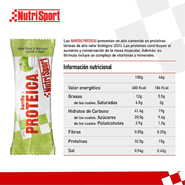 Nutrisport - Barrita Proteica Y-Manzana