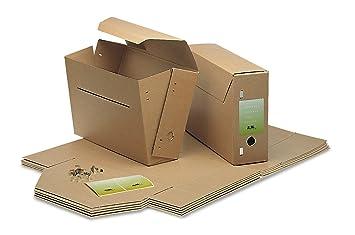 Jalema 2303800 Cartón Marrón archivador organizador - Organizador de almacenaje (Cartón, Marrón, 370 x 260 x 115 mm): Amazon.es: Oficina y papelería