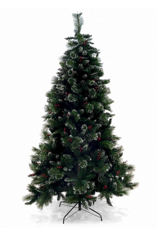 Galileo Casa Xmas Albero Natale, PVC, Verde, 120x120x240 cm 2404525 2404525_verde alberi; natale; artificiali