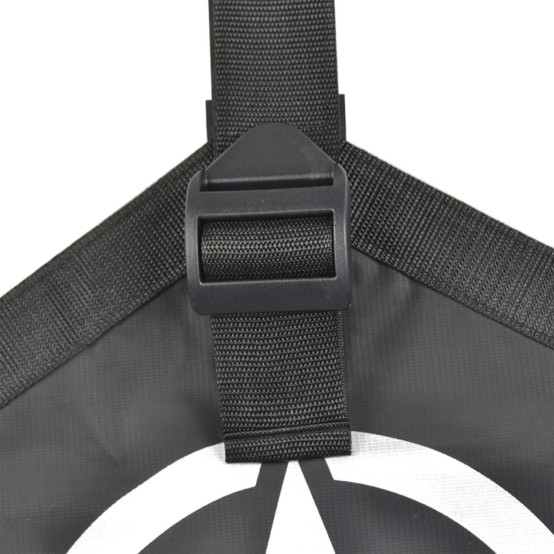 L/&U Coperchio Cofano Anteriore Copertura Proteggi Telo Protezione T-Style Kit per 2007-2017 Jeep Wrangler JK,5StarSytle