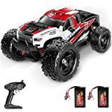 BFULL Remote Control Truck for Boys 45KM/H 1:18 Scales 4WD All Terrain Off-Road Fast Rc Car with 2 Rechargeable1200mAh Batter