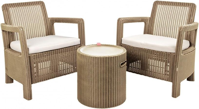 Keter - Conjunto de terraza o balcón Tarifa Balcony con mesa ...