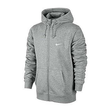 Nike Club FZ Hoody-Swoosh - Chaqueta de Manga Larga para Hombre (con Capucha y Cierre de Cremallera, algodón y poliéster): NIKE: Amazon.es: Deportes y aire ...