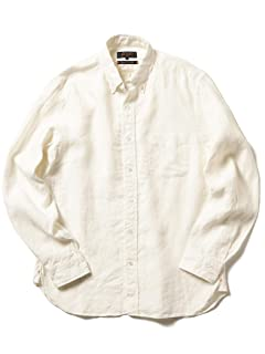 Linen Buttondown Shirt 11-11-5200-139: Off White