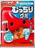 UHA味覚糖 むっちりグミ コーラ&ソーダ 100g×10袋