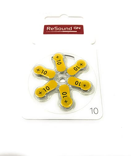 Resound GN Hearing Aid Battery size 10: Amazon in: Health & Personal