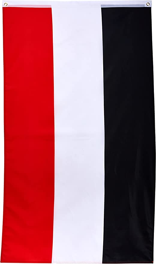 Flaggenking Bandera King, Imperio Alemán Kaiser Bandera, Negro/Blanco/Rojo, 150 x 90 x 1 cm, 16924: Amazon.es: Jardín