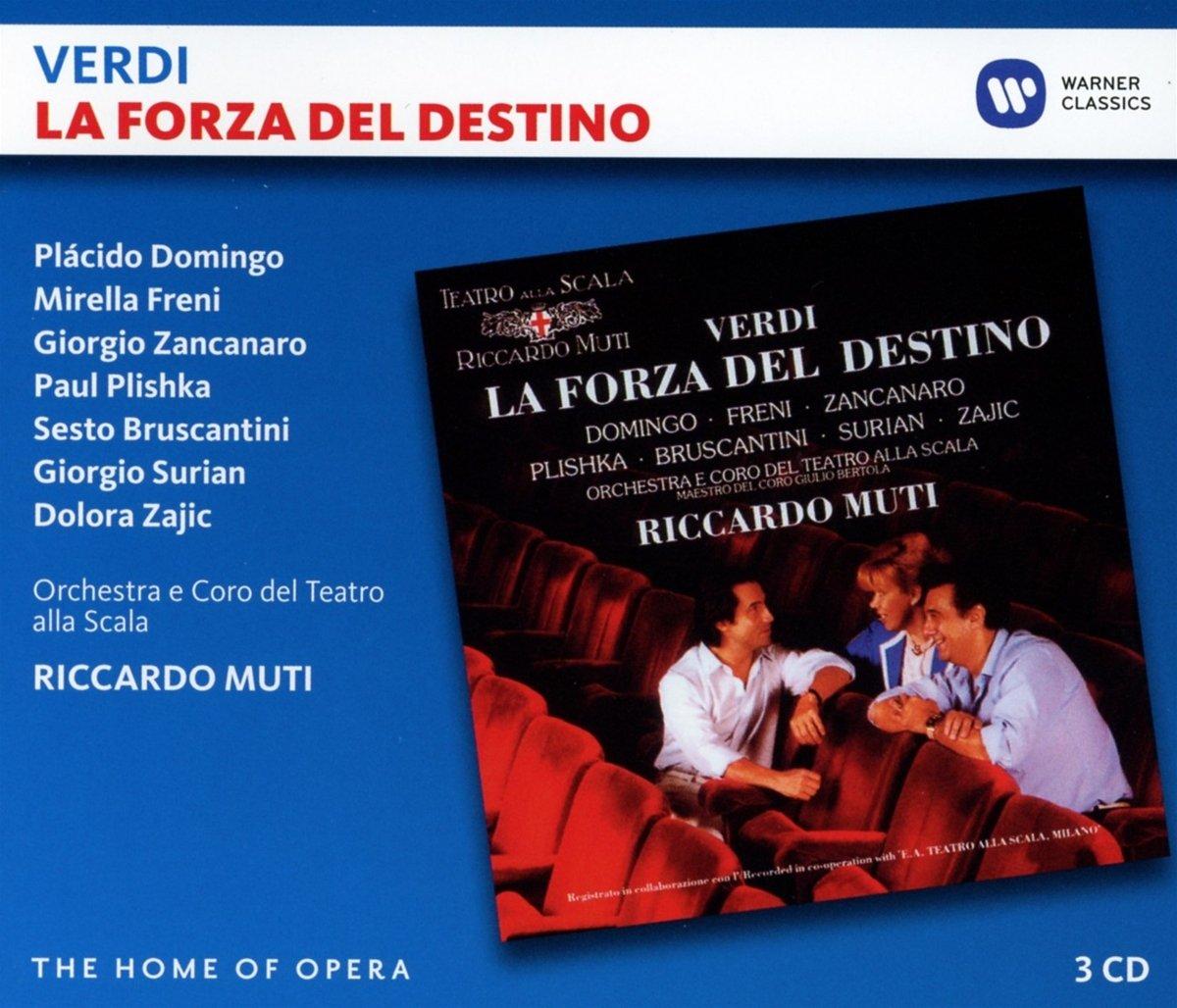 CD : Riccardo Muti - Verdi: La Forza Del Destino (3PC)