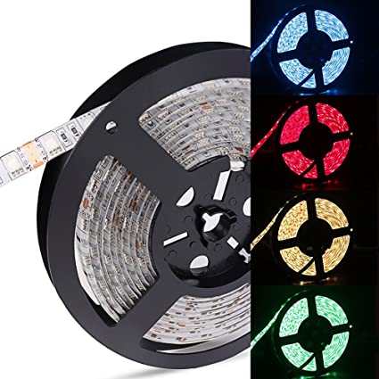 Review Sanwo 16.4ft/1roll RGB LED