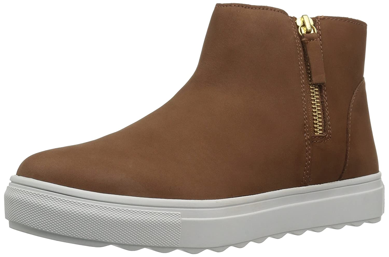 J Slides Women's Poppy Ankle Boot B074QQBMGW 7 B(M) US|Cognac
