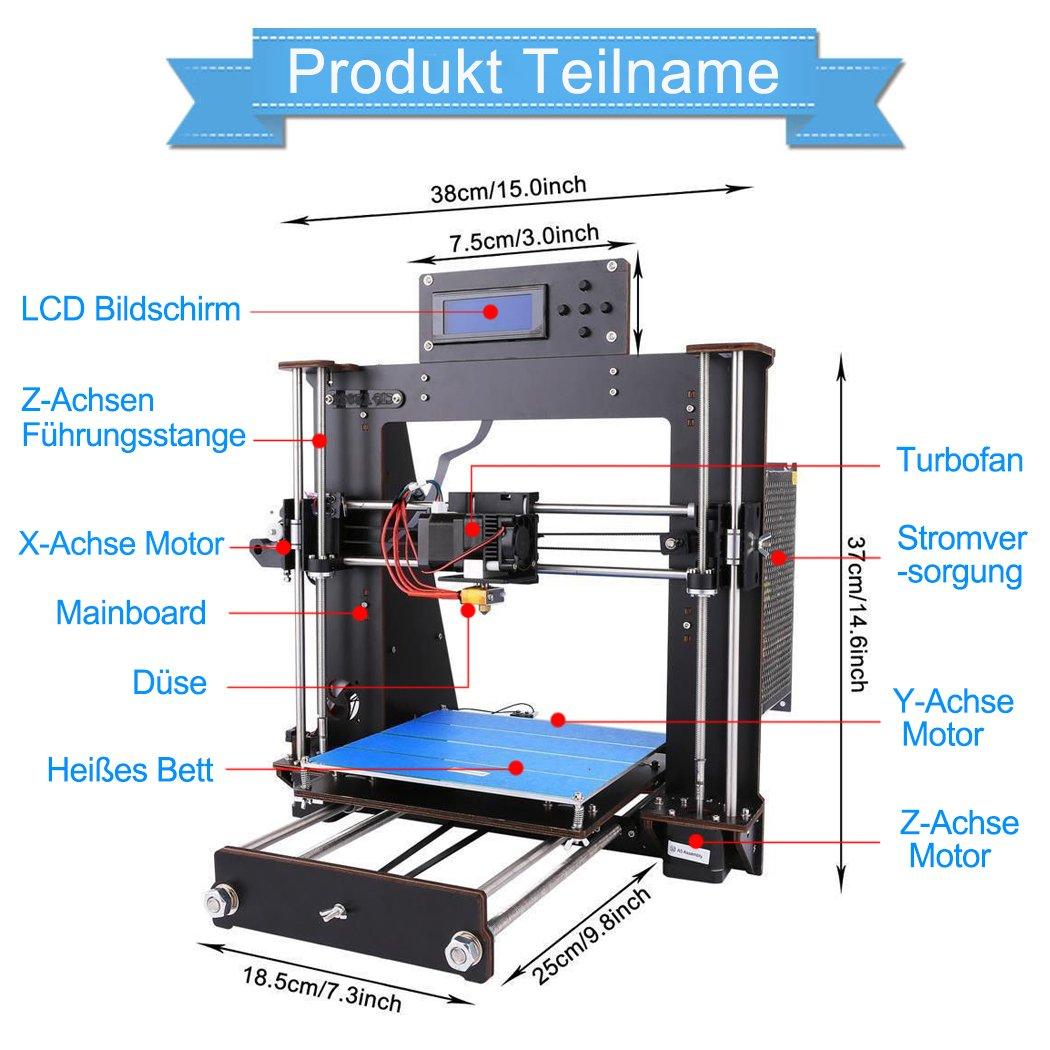 win-tinten - Impresora 3D de gran precisión: Amazon.es: Industria ...