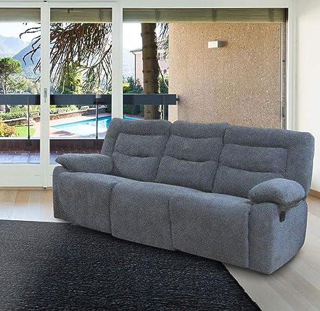 Divano 3 Posti 2 Relax.Kechao Co Limited Divano 3 Posti Mod Eddi Con 2 Relax Manuale In