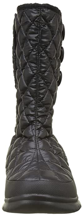 T92T5K, Botas de Nieve para Mujer, Negro (Shiny TNF Black/Smoked Pearl Grey NSX), 36 EU The North Face