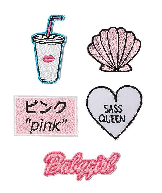 Patch Pack Set Iron On Badge Gift Tumblr Cute Kawaii Fun Babygirl