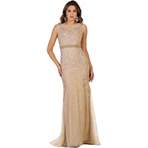 Royal Queen RQ7524 Special Occasion Demure Dress