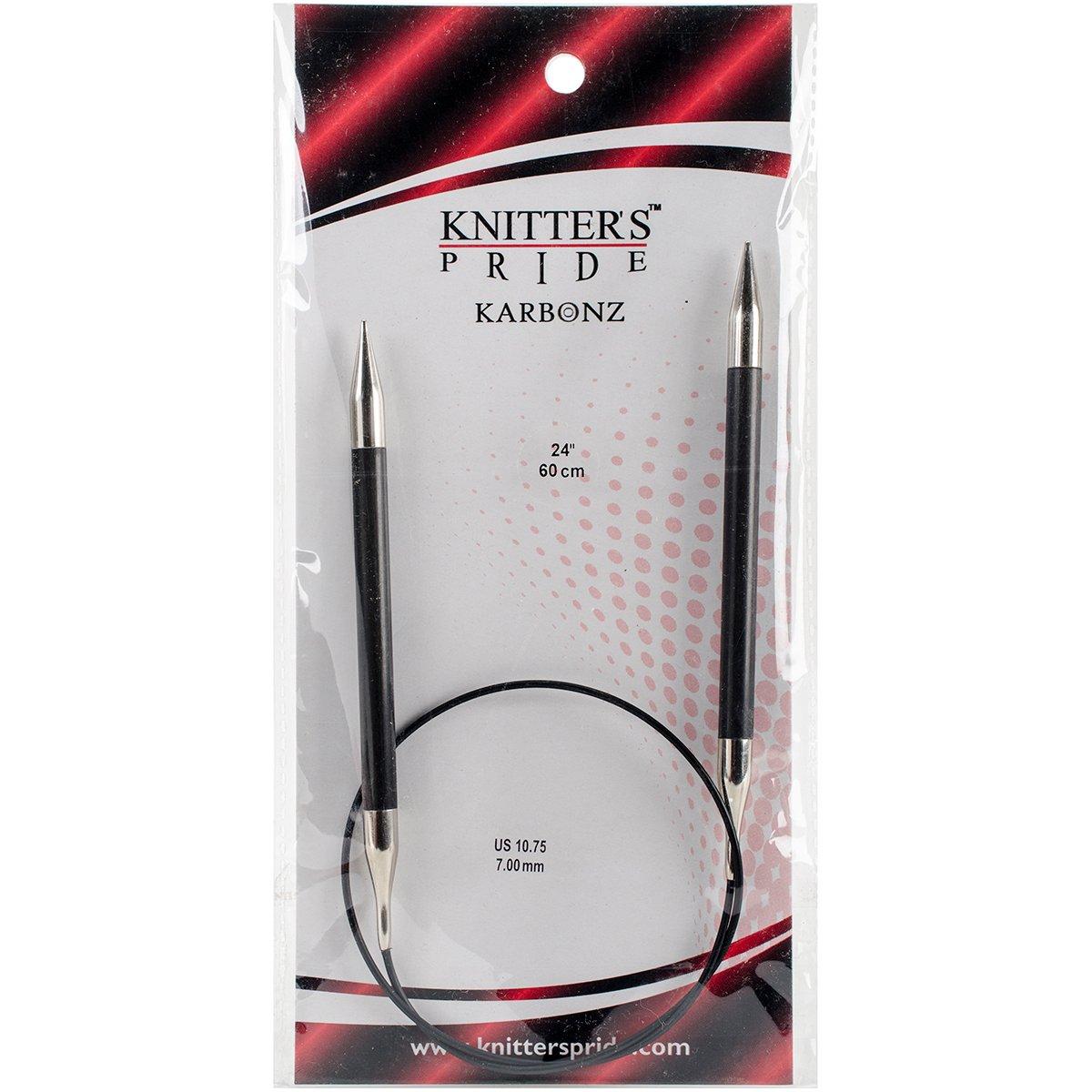 Karbonz Fixed Circular Needles 24 Size 10.75 7mm