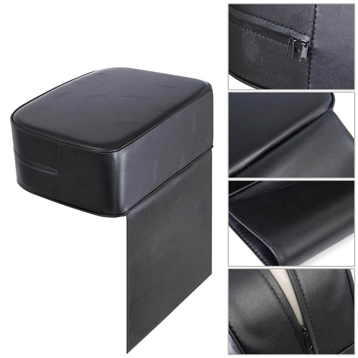 Salon Booster Seat Cushion for Child Hair Cutting, Cushion for Styling Chair, Barber Beauty Salon Spa Equipment Black: Beauty