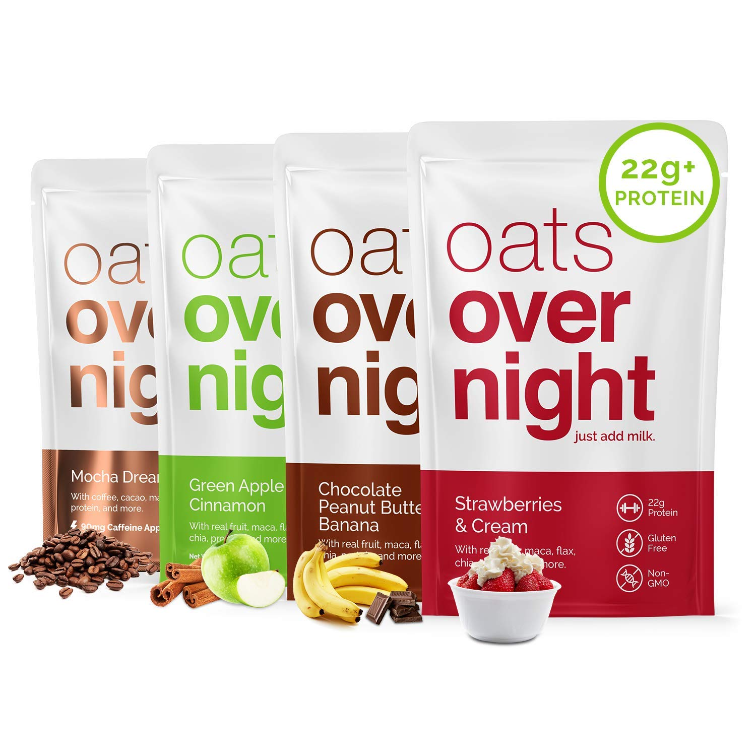 Image result for overnight oats packetrs