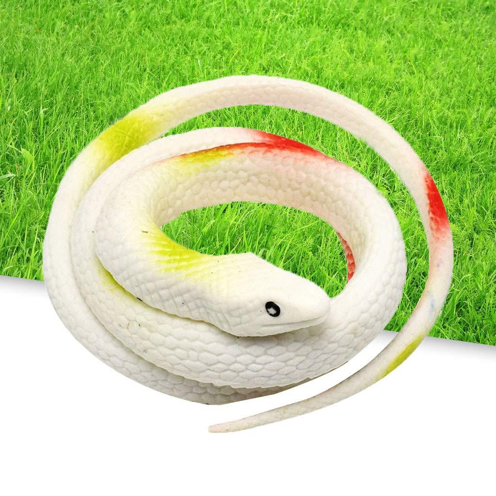 Amazon.com: Juguetes de serpiente de goma realistas de ...