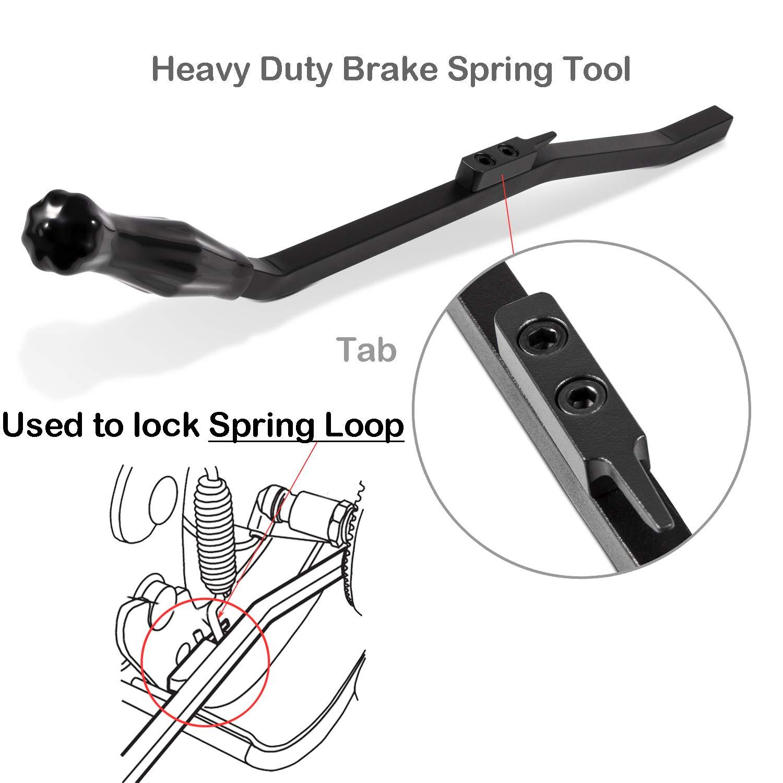 E-cowlboy Air Brake Spring Remover Tool for S-Cam Type Replace OTC 5081