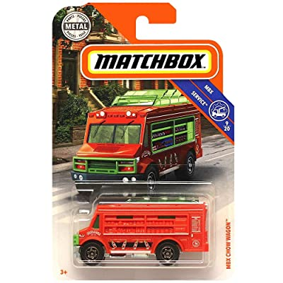 Matchbox MBX Service Chow Wagon Diecast Car 1:64 Scale: Toys & Games