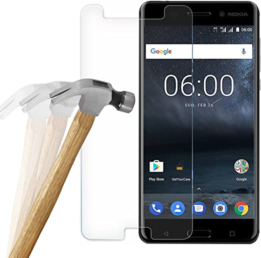 wortek Nokia Tanque 6 Cristal Protector de Pantalla 3D Touch ...