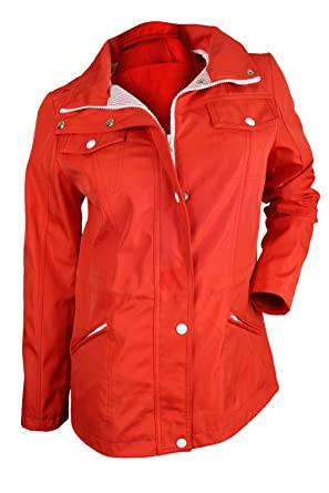 Amazon.com: GUESS Women&39s Orange Hooded Windbreaker Jacket M