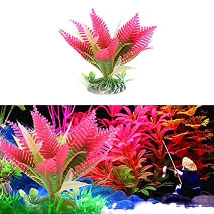 yumian aquarium decorations christmas flower water plant grass for aquarium fish tank landscape decoration - Christmas Aquarium Decorations