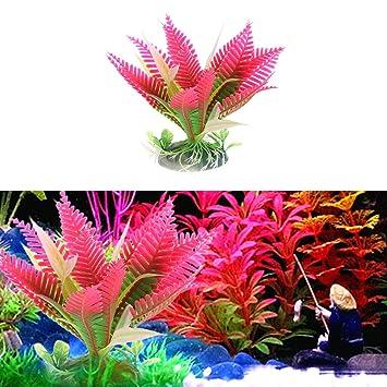 yumian aquarium decorations 2pcs christmas flower water plant grass for aquarium fish tank landscape decoration