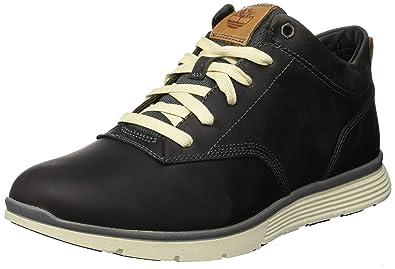 91628d2c8e Image Unavailable. Image not available for. Color  Timberland Mens  Killington Half Cab Black Nubuck Boots 44.5 EU