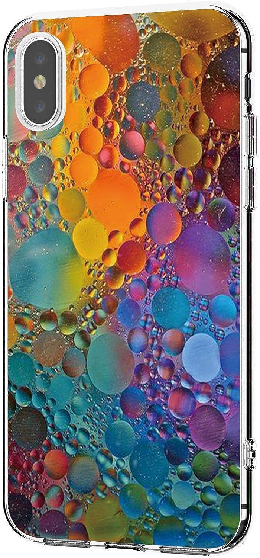 Lajer H/ülle Schutzh/ülle Kompatibel Mit iPhone XS Max XS Handyh/ülle Ultra D/ünn Transparent Flexibel Weich TPU Silikon Sto/ßfest s/ü/ßes Motiv Handytasche Clear Case Cover f/ür iphone XR
