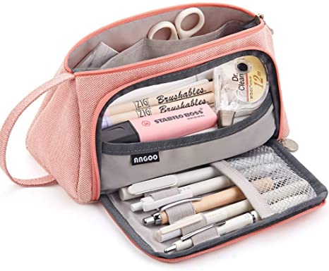 Multi-Layer Pencil Case Layers Girls Pencil Cases Makeup Storage Birthday Gifts