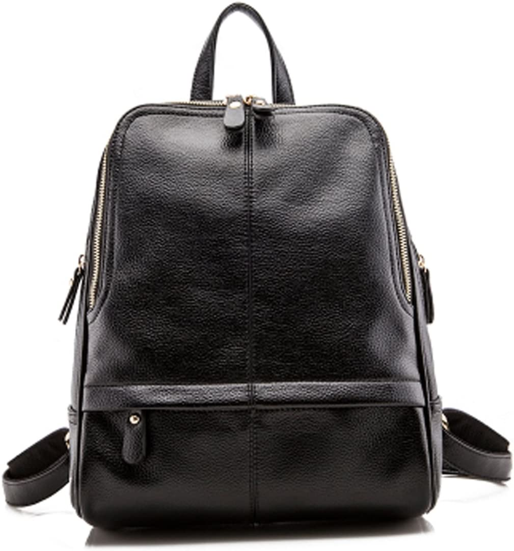 Blue Life Star 2015 New Leather Backpack School Bag