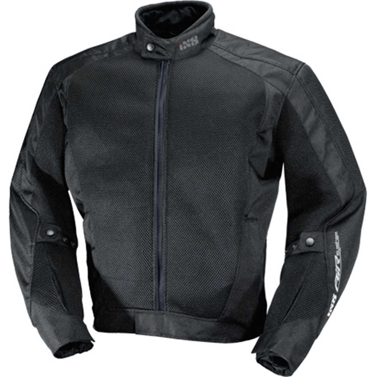 IXS Mens Airmesh Evo 2 Jacket Black//White, XX-Large