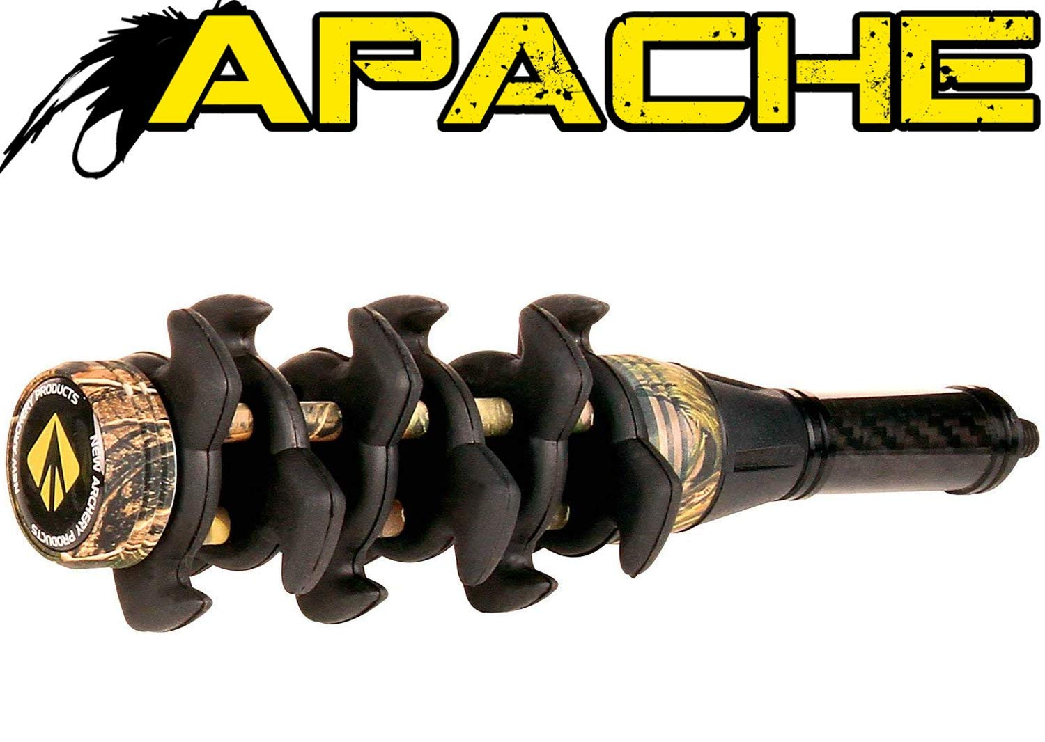New Archery Products NAP Camo Apache Stabilizer 5 Inch Stealth Dampening by New Archery Products