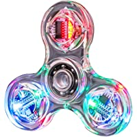 S-TROUBLE Novedad Múltiples Cambios LED Fidget Spinner Luminoso