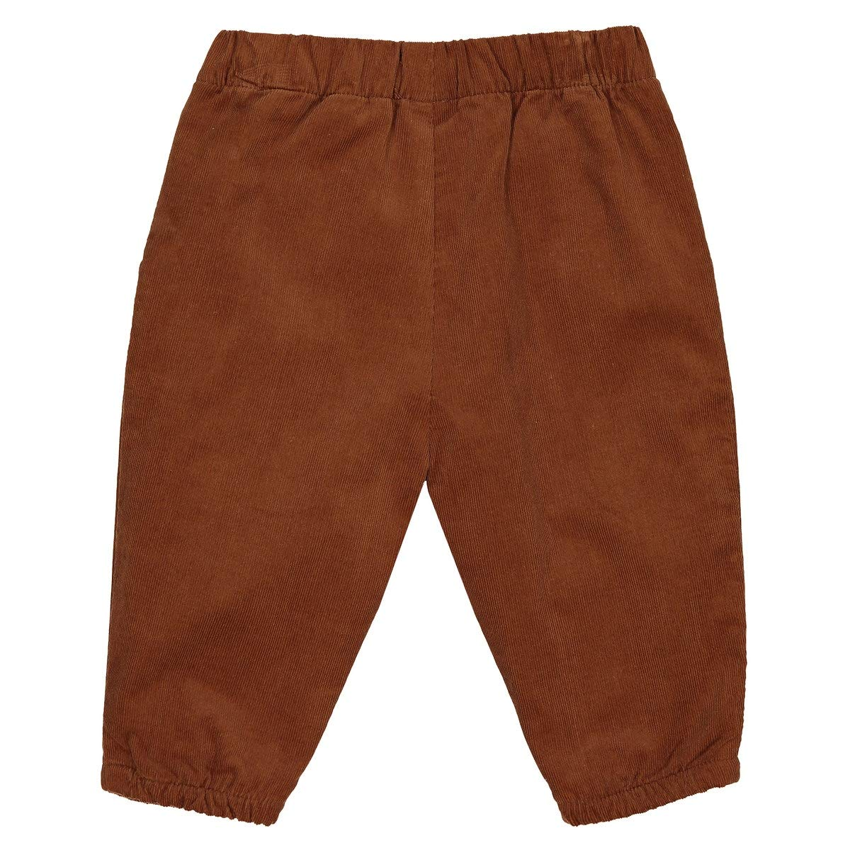 La Redoute Uniross Corduroy Joggers with Little Tab Birth-2 Years