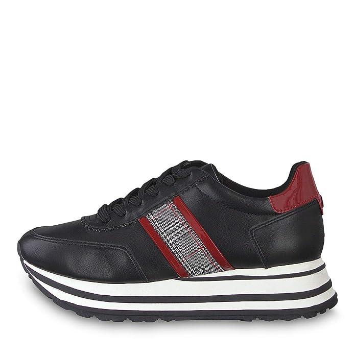 Details zu Tamaris Damen Stiefel 1 25110 23 Schwarz 053 Fashion Schuhe Lifestyle Neu