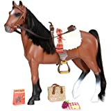 cd21ea4c019 Jual Our Generation Lily Anna Poseable Deluxe Doll Set with Riding ...