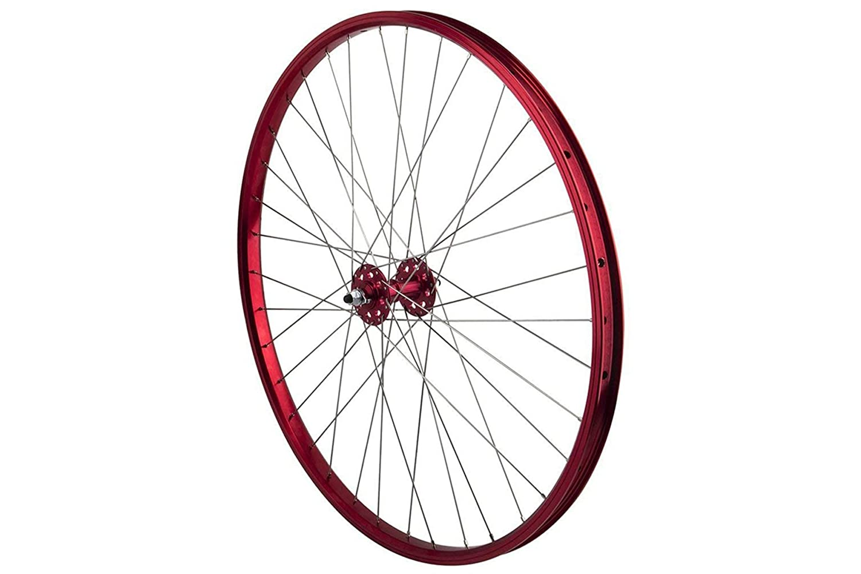 SE Bikes ファクトリー自転車 24インチ 密閉フロントホイールリム  レッド B07FV62B3W