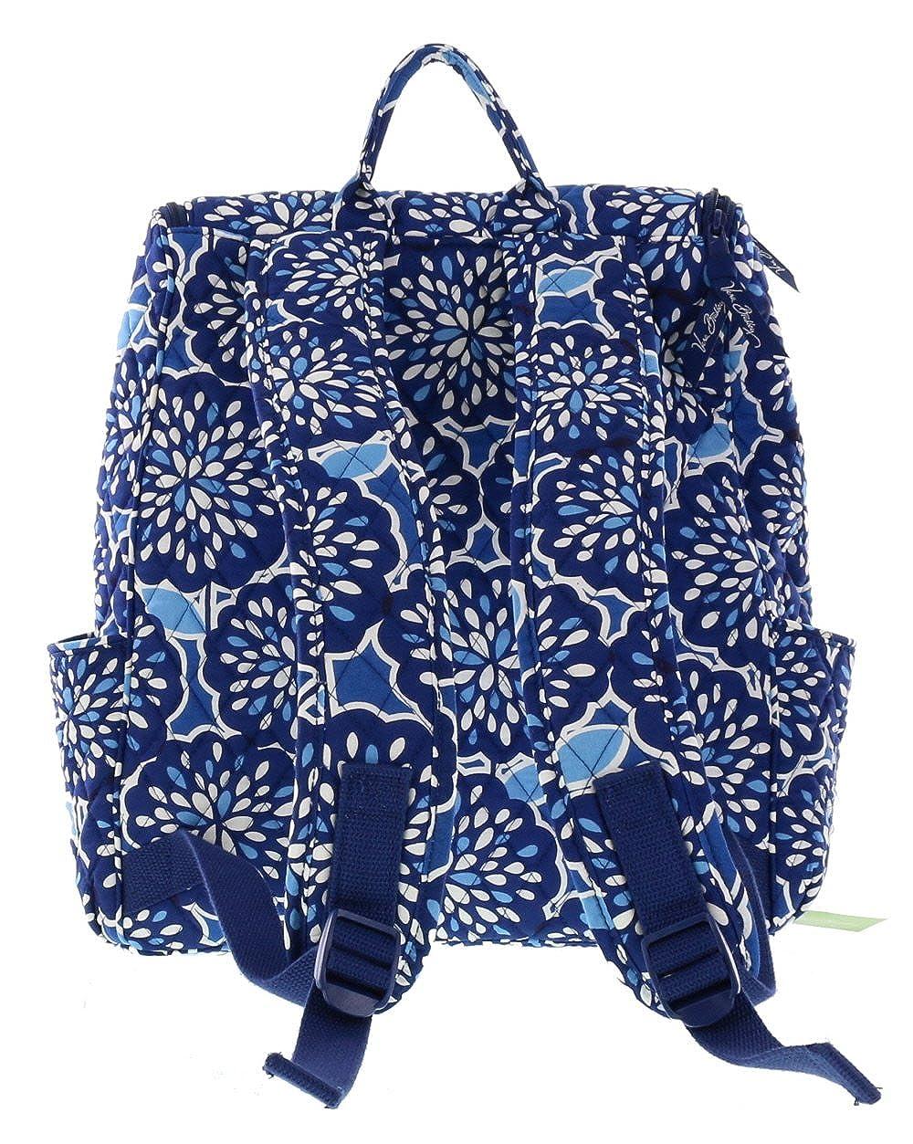 e6918a6ccf8 Vera Bradley Double Zip Backpack in Petal Splash  Amazon.co.uk  Shoes   Bags