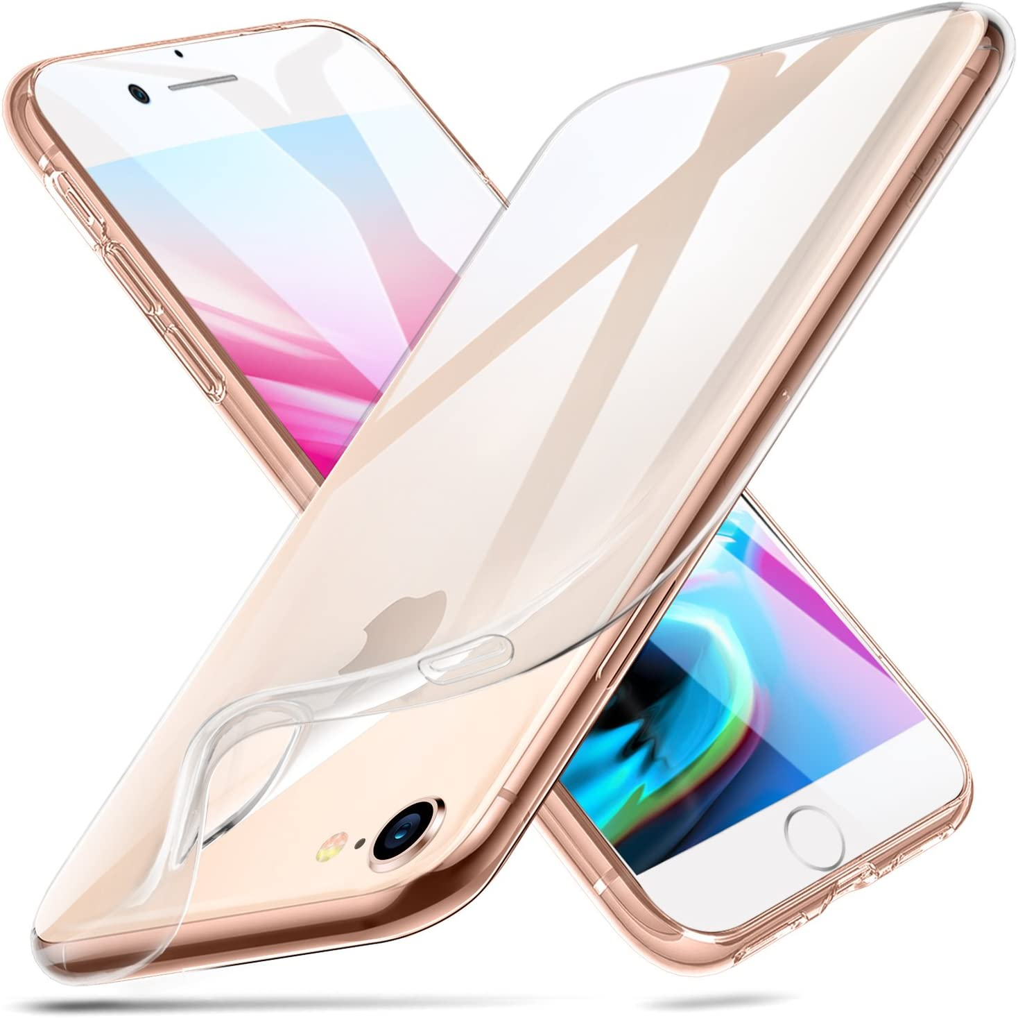 """ESR iPhone 8 Case, iPhone 7 Case,Slim Clear Soft Flexible TPU Cover for 4.7"""" iPhone 8 (2017 Release)/ iPhone 7 (2016 Release)(Jelly Clear)"""
