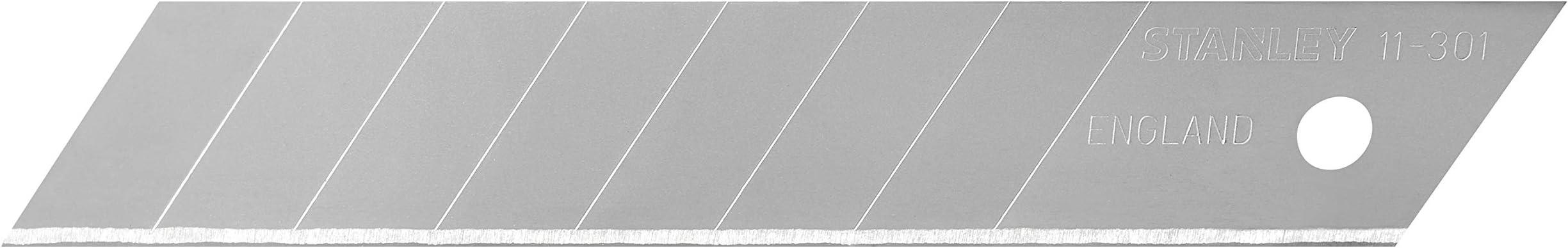 10 lames de cutters Stanley 11-301 neuves dans leur étui