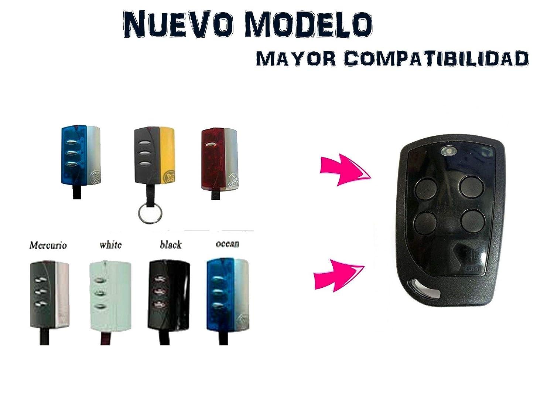 Mando Garaje Original Nuevo PUJOL Vario 4U PUJOL 433 MHz DE 4 Canales Compatible con LOS ANTERIORES PORTON COCHERA