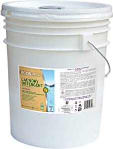 ECOS Liquid 2X Laundry Detergent, Lavender, 5 Gallon Pail, Lot of 1