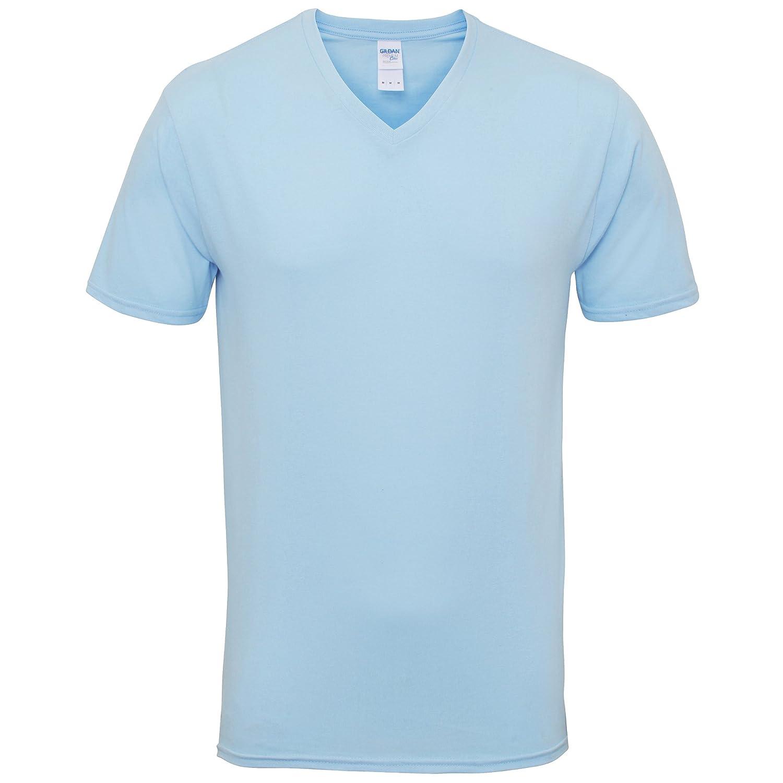 162b59cd16040 Gildan - Camiseta de Manga Corta con Cuello V Modelo Premium algodón Hombre  Caballero  Amazon.es  Ropa y accesorios