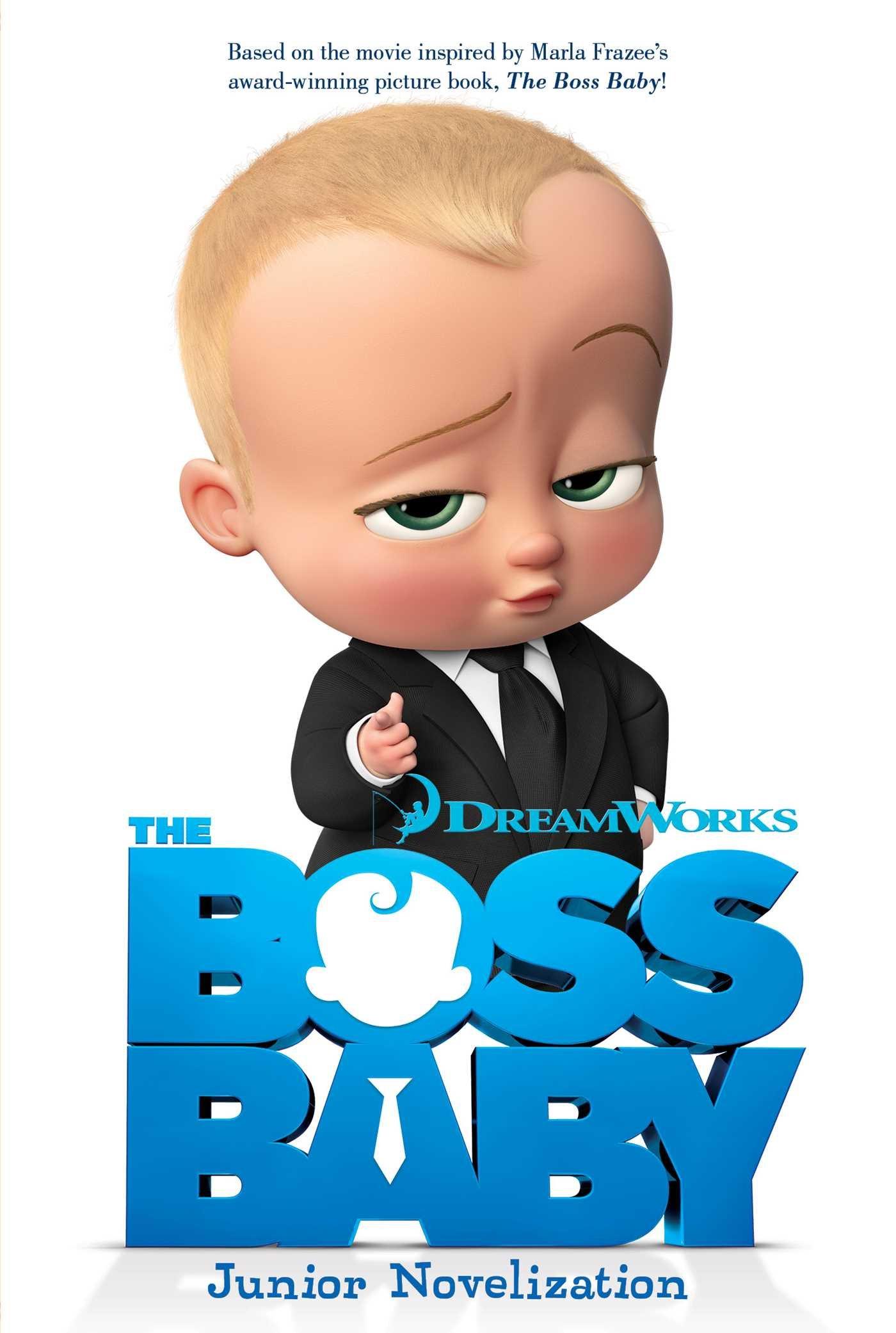 Boss Baby Junior Novelization Movie product image